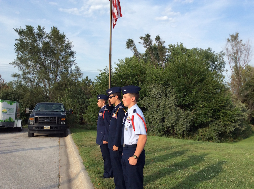 change of command at omaha composite squadron